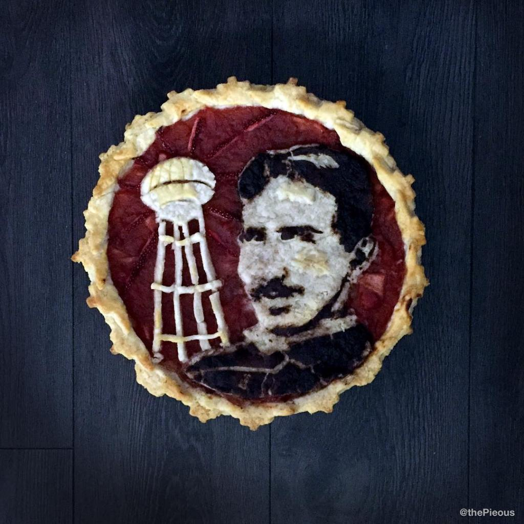 Delicious Pie Designs Inspired by Movie Characters, Musicians, Historical Figures, and Emojis