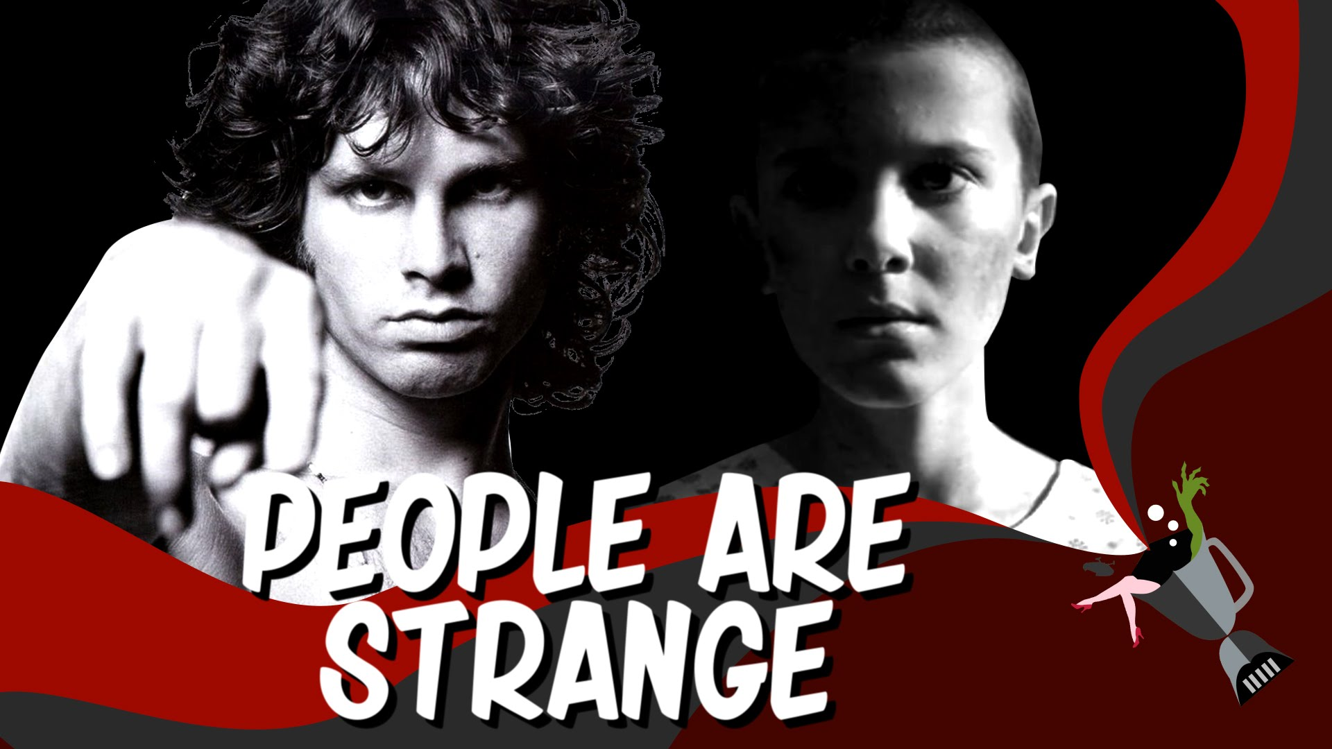 sc 1 st  Laughing Squid & A Mashup of Stranger Things and The Doors Song \u0027People Are Strange\u0027