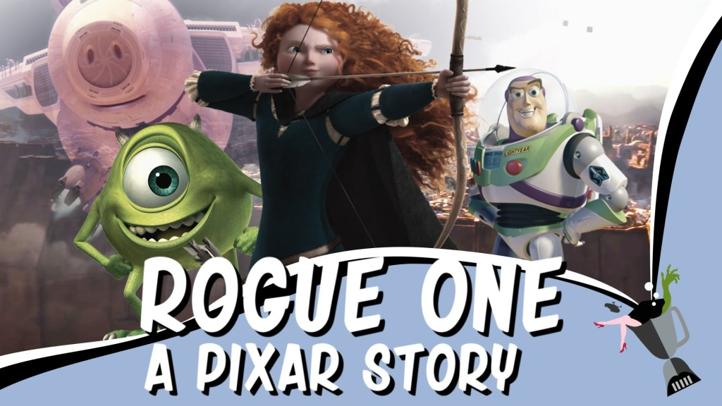 A Mashup of Pixar's Animated Films and the Second Rogue One Trailer
