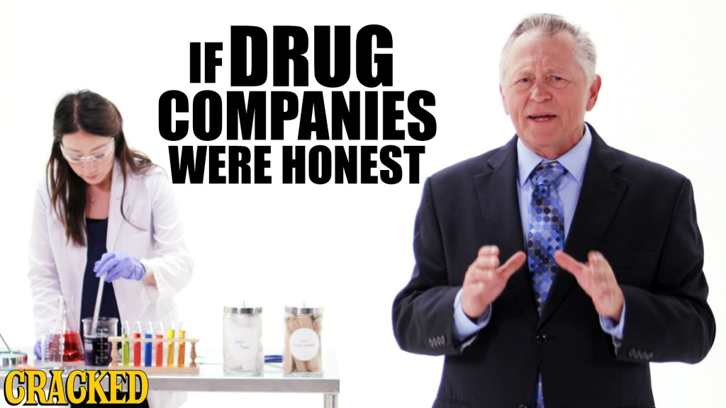 An Honest Parody of Drug Commercials and the Unhealthy Choices Patients Make