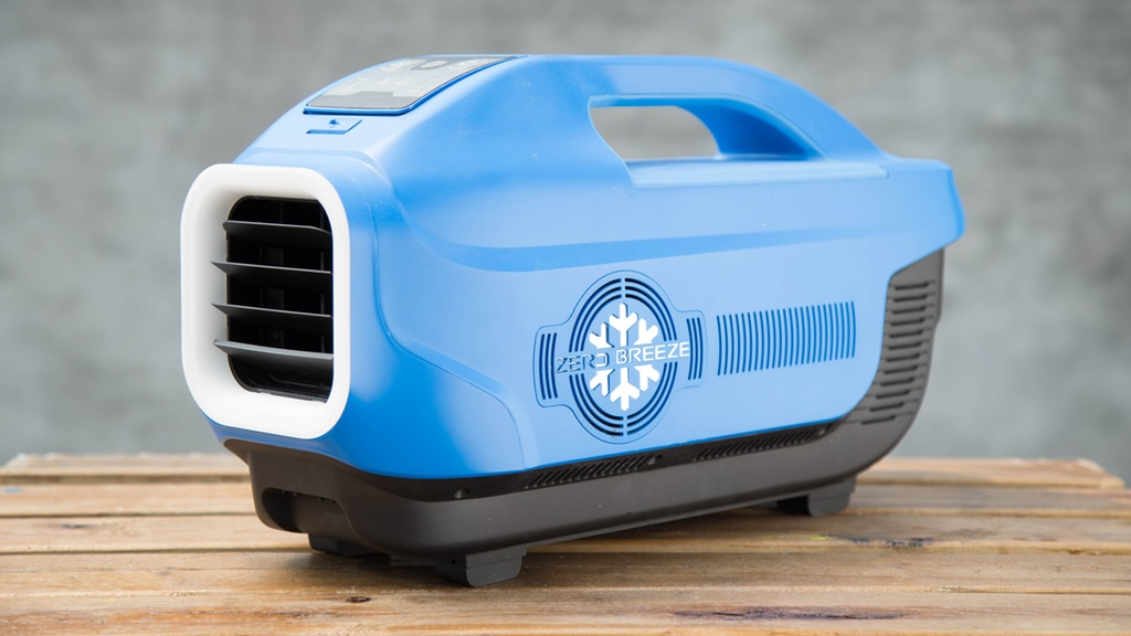 Zero Breeze A Battery Powered Portable Air Conditioner