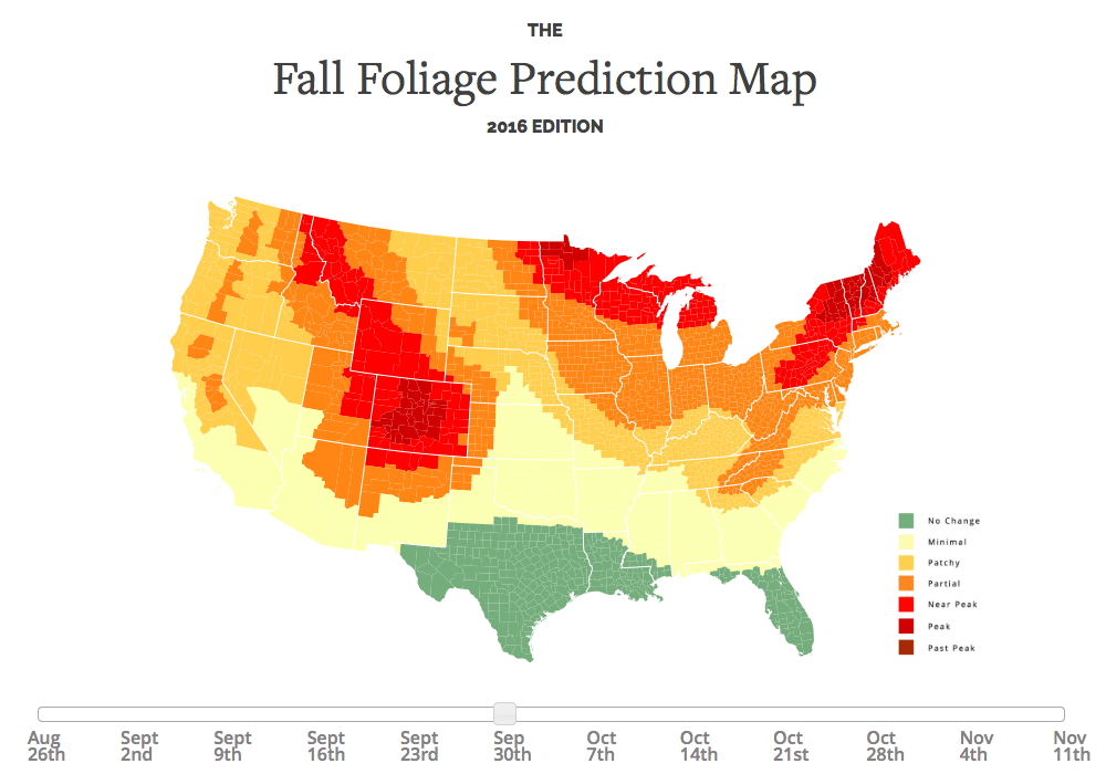 Fall Color Report 2017 Fall Color Map Travel Wisconsin | Autos Post
