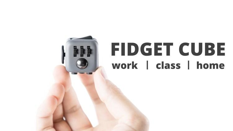 Fidget Cube Product Shot