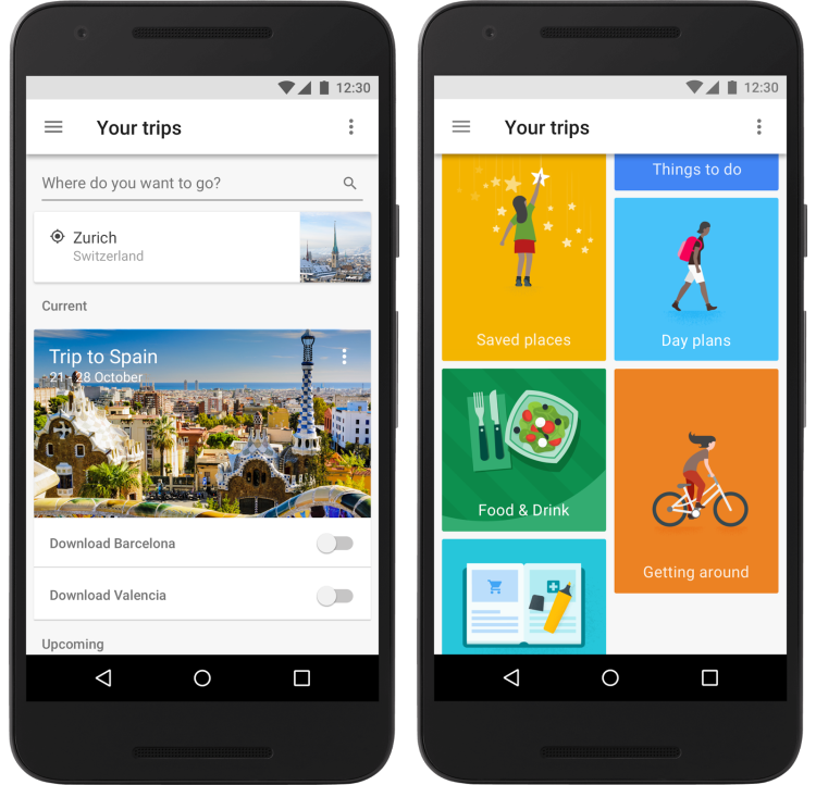 Google Trips Your Trips