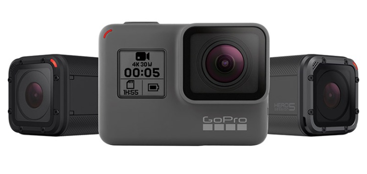 GoPro HERO5 and Session