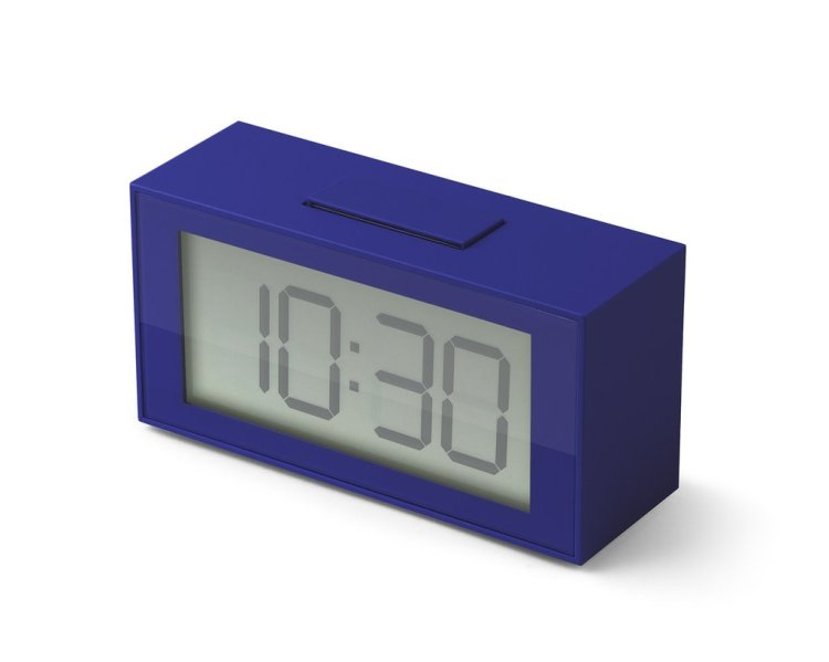 In-Out Alarm in Blue