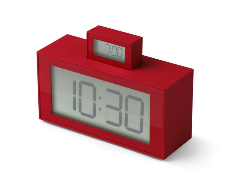 In-Out Alarm in Red
