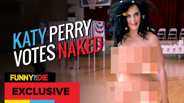 Katy Perry Gets Naked To Remind People To Vote-1373