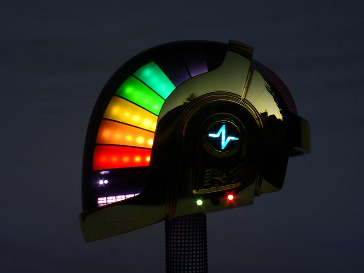 Robotic Daft Punk Helmet