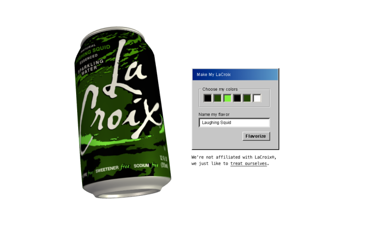 Laughing Squid LaCroix Can