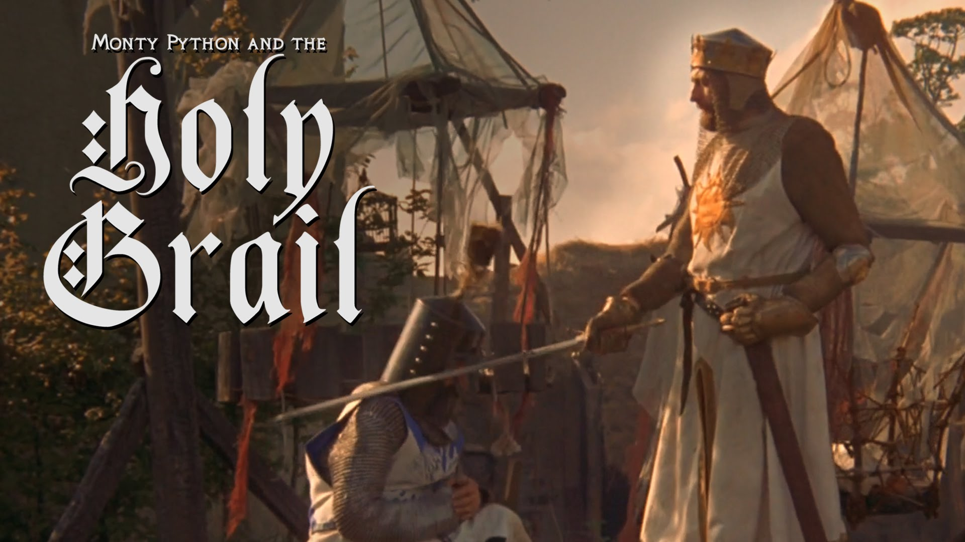 monty python and the holy grail reimagined as a crazy