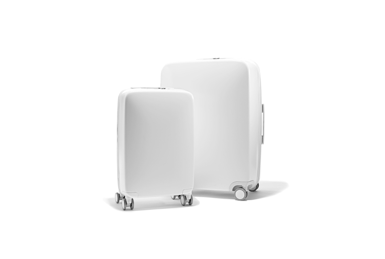 Raden Luggage in White