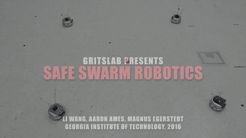 A System for Swarming Robots to Avoid Collisions With Each Other Developed by Team at Georgia Tech