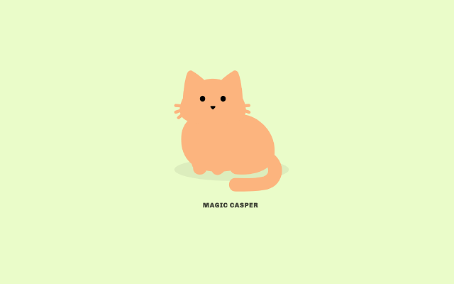 Tabby Cat Magic Casper
