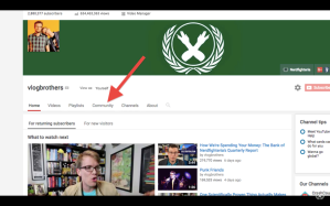 YouTube Community Tab Featured Image