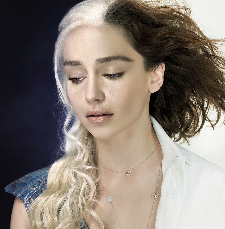 Daenerys Targaryen and Emilia Clarke