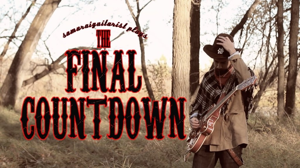 A Wild West Guitar Version of the 1986 Europe Hair Metal Song 'The Final Countdown'