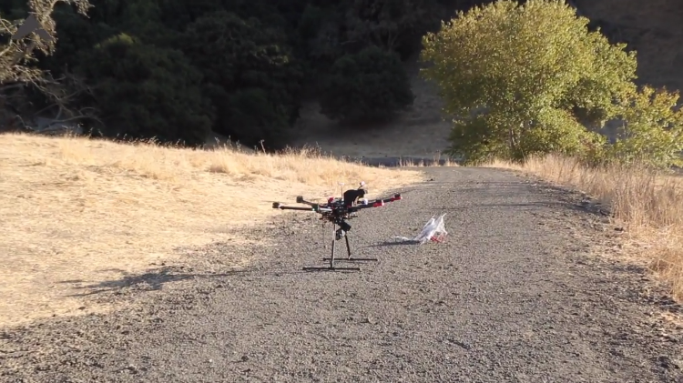 One Touch Interceptor TI, A Drone Designed to Autonomously Hunt and Take Down Rogue Drones