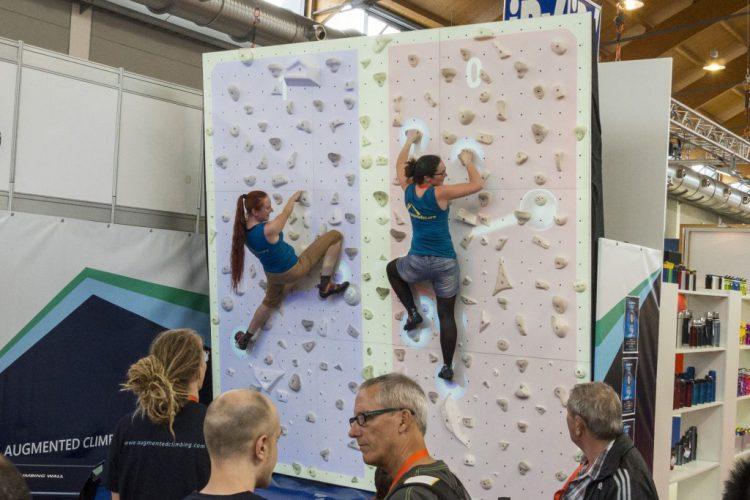Augmented Climbing Climball