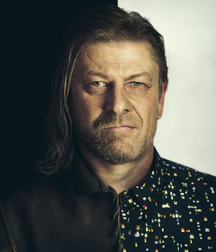 Eddard Stark and Sean Bean