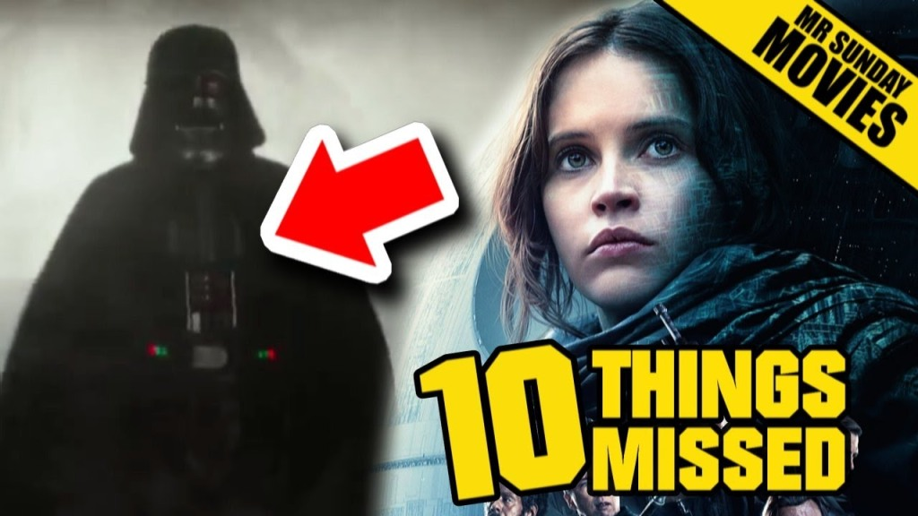 Easter Eggs and Things Missed in the Second Trailer for Rogue One: A Star Wars Story