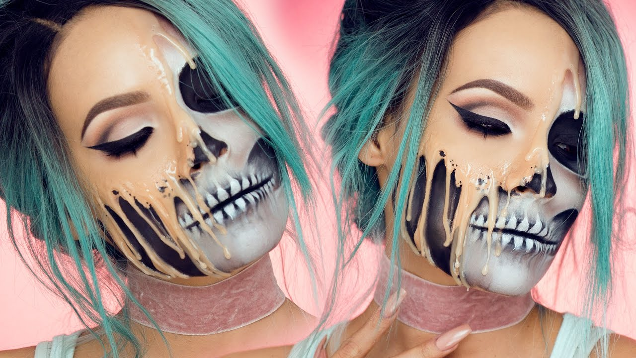 ... Makeup Tutorial That Makes It Look Like Your Face Melting Off of Your