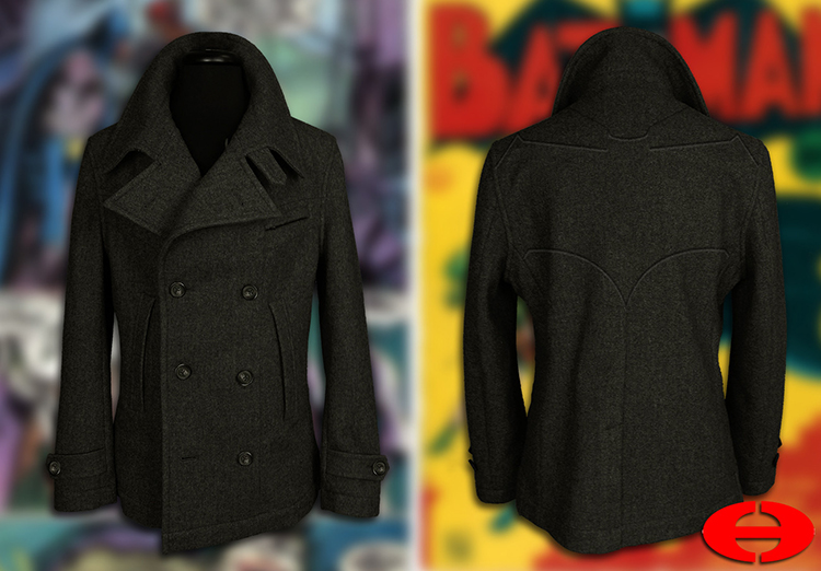 BATMAN Heavy Peacoat