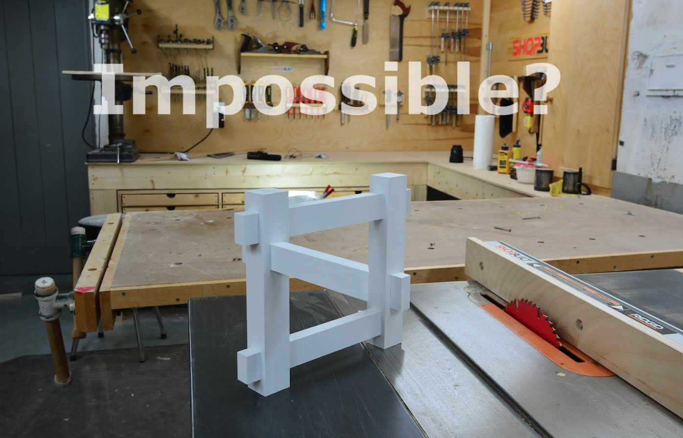 impossible optical illusion illusions build wood laughingsquid wooden woodworking