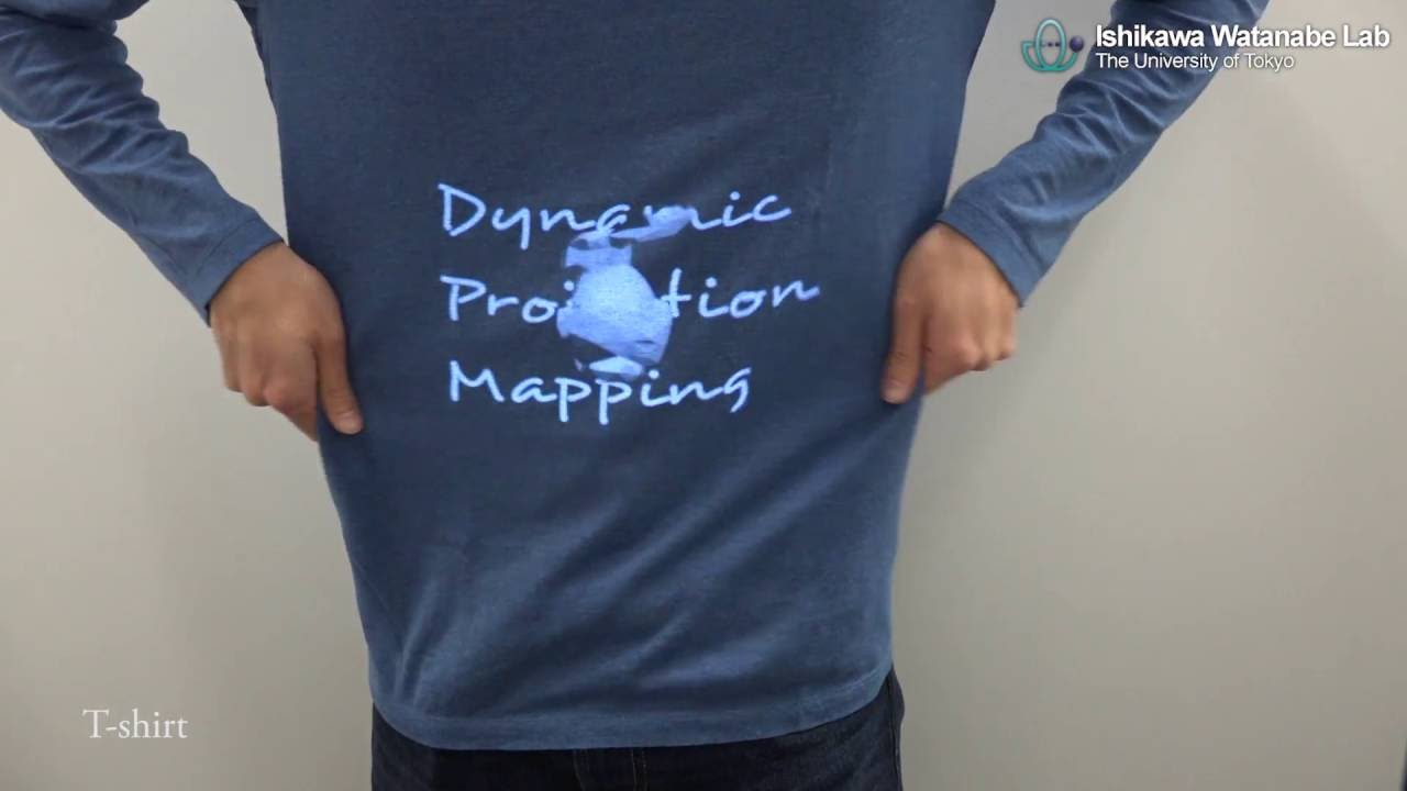 New Technology Allows Projected Images and Video to Move With Their Targeted Surface