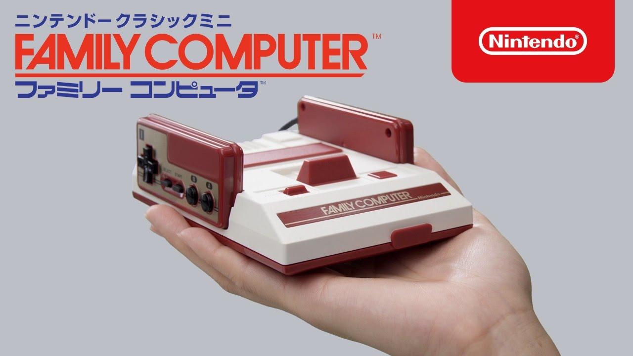 Nintendo Classic Mini: Family Computer, A Mini Console Pre-Loaded With 30 Classic NES Games