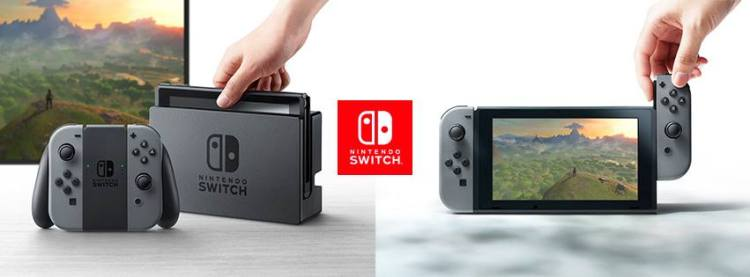 Nintendo Switch, A Unique New System That Combines Console Play and Portability