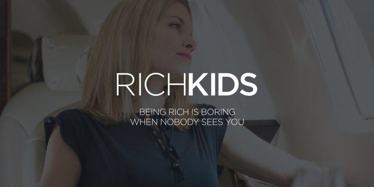 Rich Kids Slogan