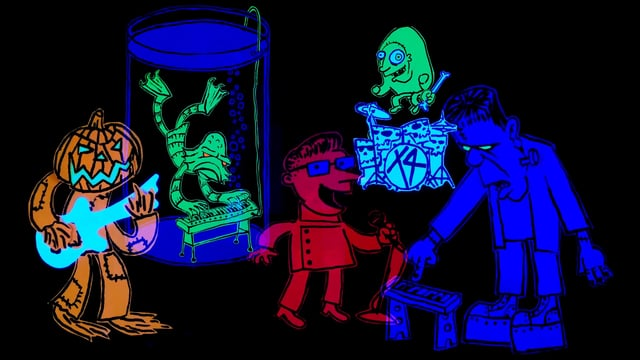 Save All Monsters, A Kooky and Spooky Halloween Music Video by ...