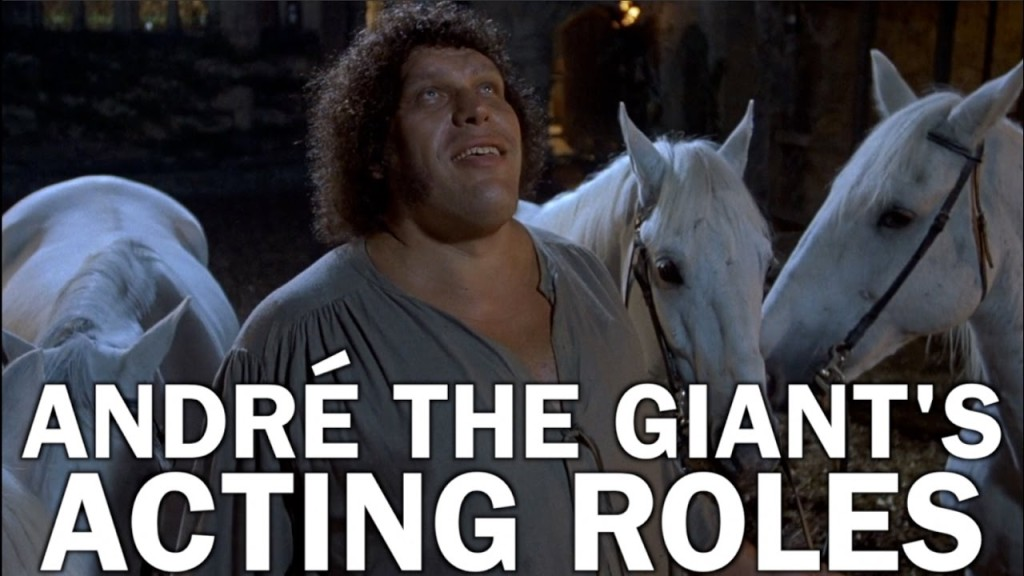 The Career of André the Giant, The Big Man Who Won Audiences Over With 'The Princess Bride'