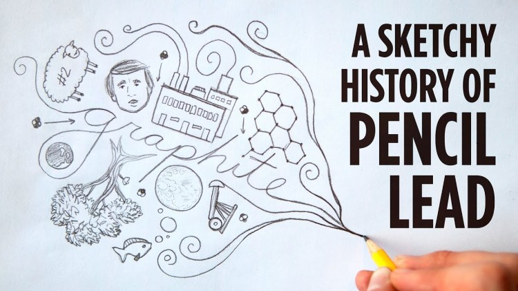 The History of Pencil Lead, Told From the Dawn of the Universe