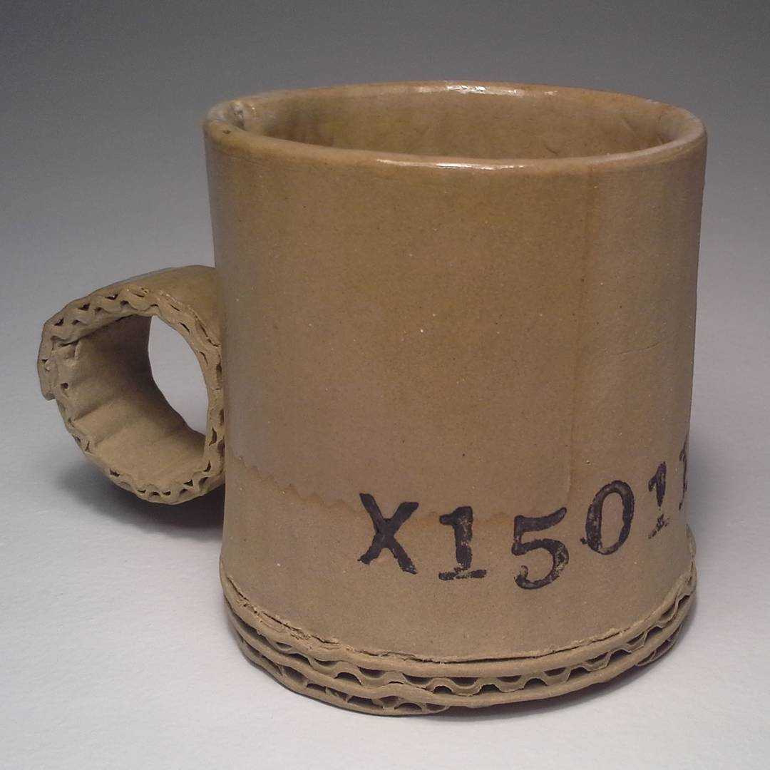 Amazing Ceramic Mugs That Look Like They Were Fashioned Out Of Recycled  Cardboard And Tin Cans