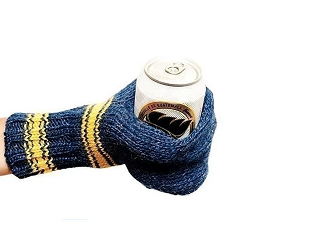 Premium Knit Beer Mitt