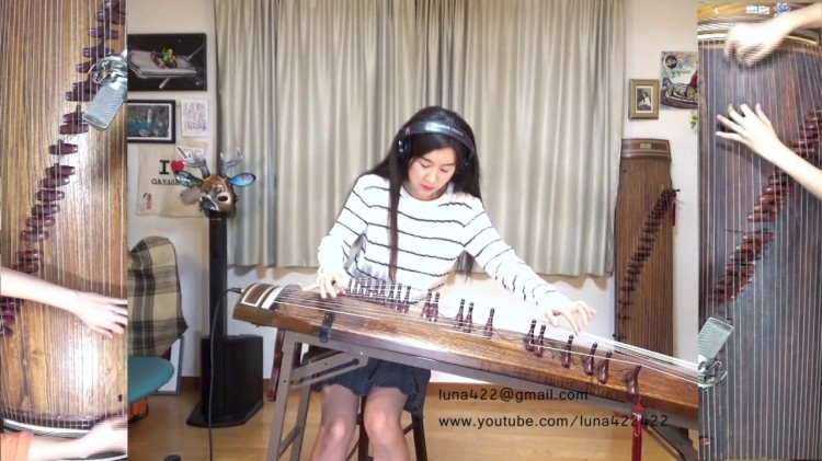 A Brilliant Version of Pink Floyd's 'Another Brick in the Wall' Played on a Traditional Korean Gayageum