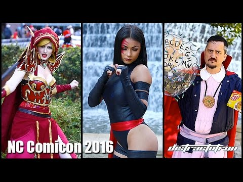 Some of the Best Cosplay at NC Comicon 2016