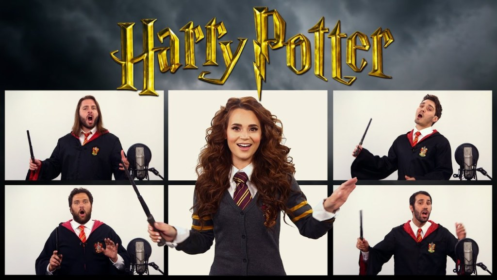 A Magical Cover of the Harry Potter Theme Song by The Warp Zone and Rosanna Pansino