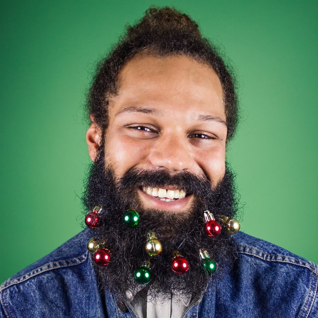 Magnificent Beardo Baubles Small Christmas Ornaments Men Can Hang From Their Short Hairstyles For Black Women Fulllsitofus