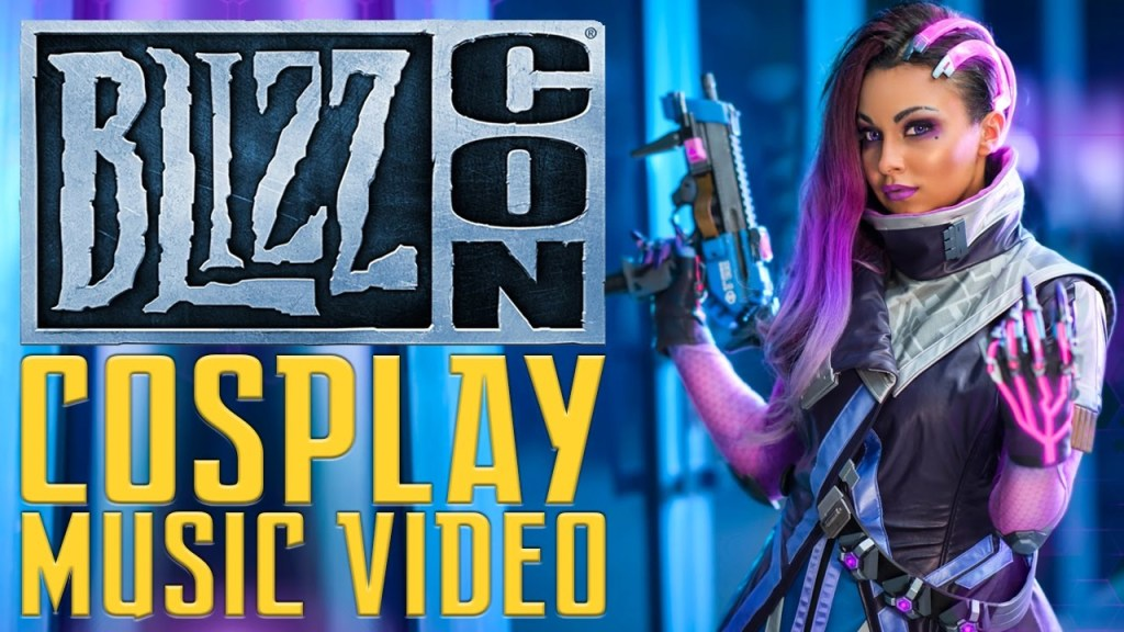 Blizzcon 2016 Cosplay Music Video by Sneaky Zebra