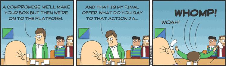 Dilbert as Silicon Valley