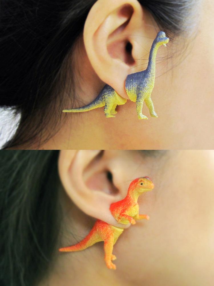 dinosaur-earring