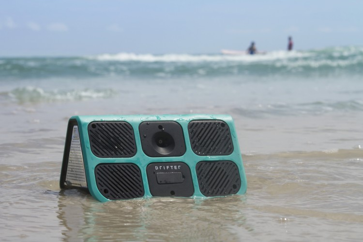 Drifter Speaker on Beach
