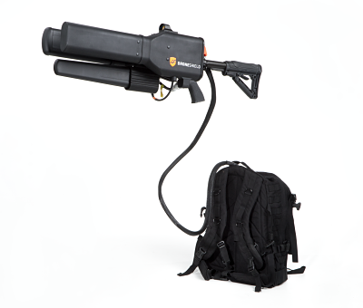 Dronegun and Proton Pack