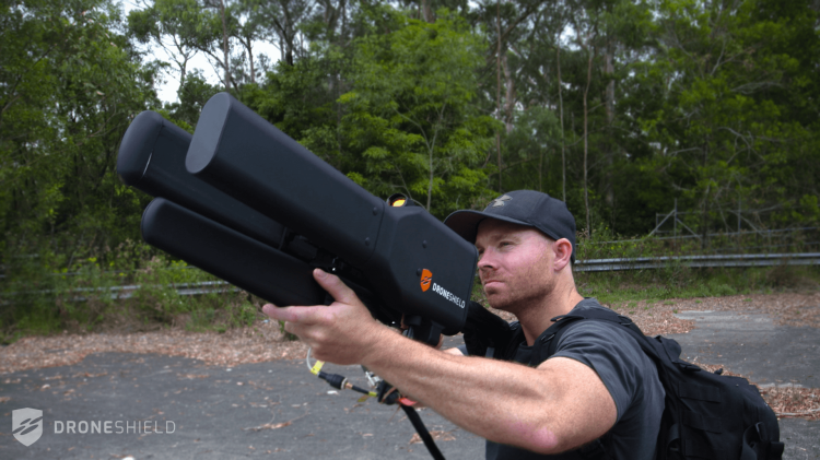 Dronegun Being Fired