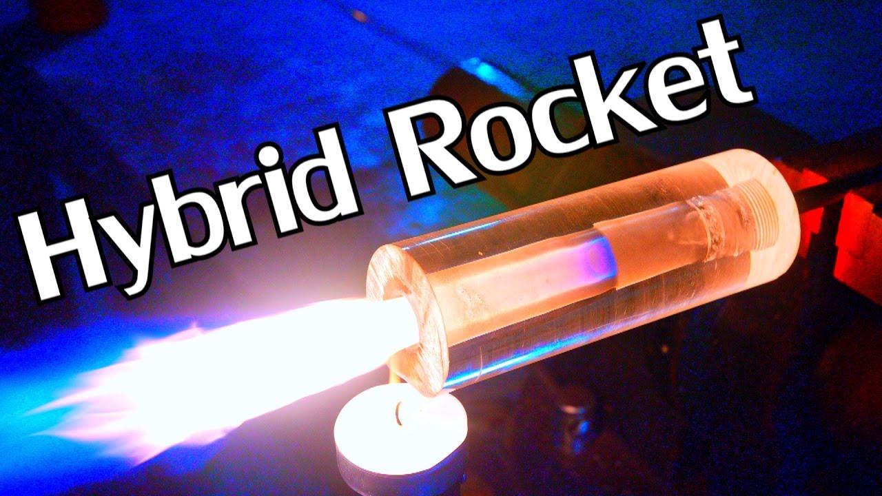 How to Build a Working DIY Transparent Hybrid Rocket Engine