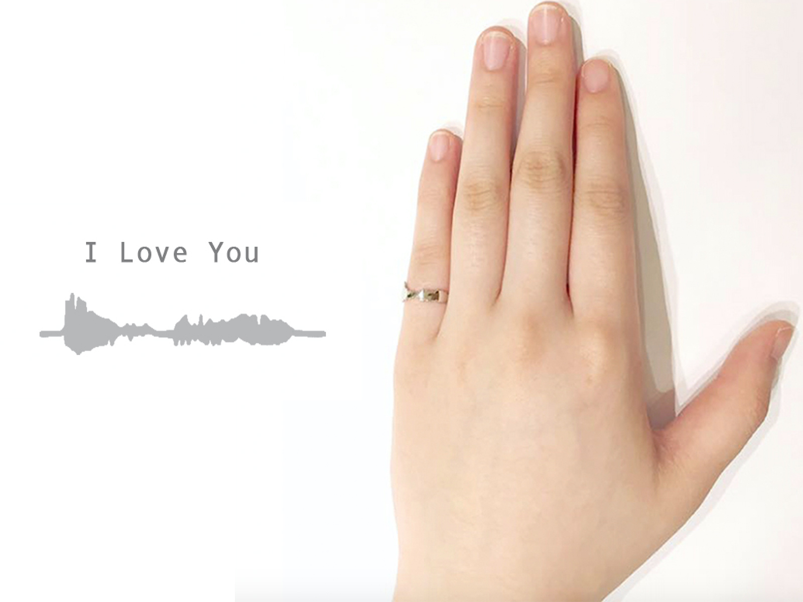 VICTORIA: Inner message imprint rings