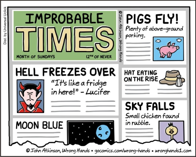 Improbable Times
